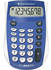 Calculator TI 503