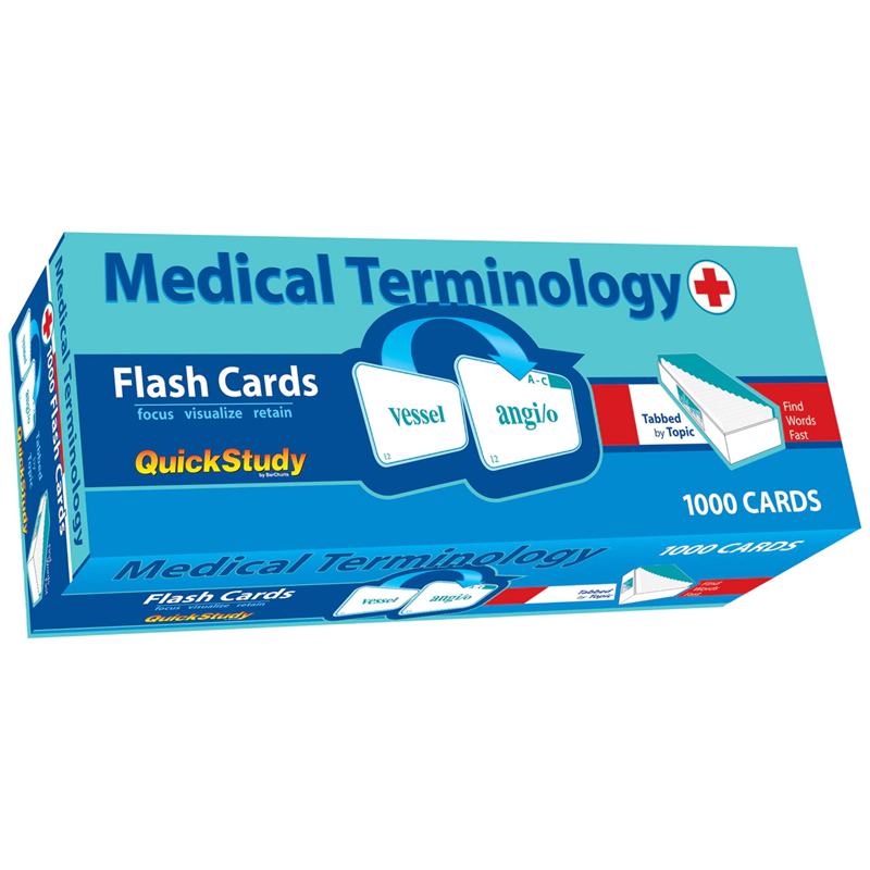 Flash Cards Medical Terms (SKU 1000400528)