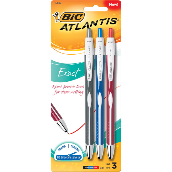 Pen 3 Color Atlantis Pens (SKU 1000820126)