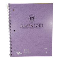 Notebook 1 Sub Metallic Purple