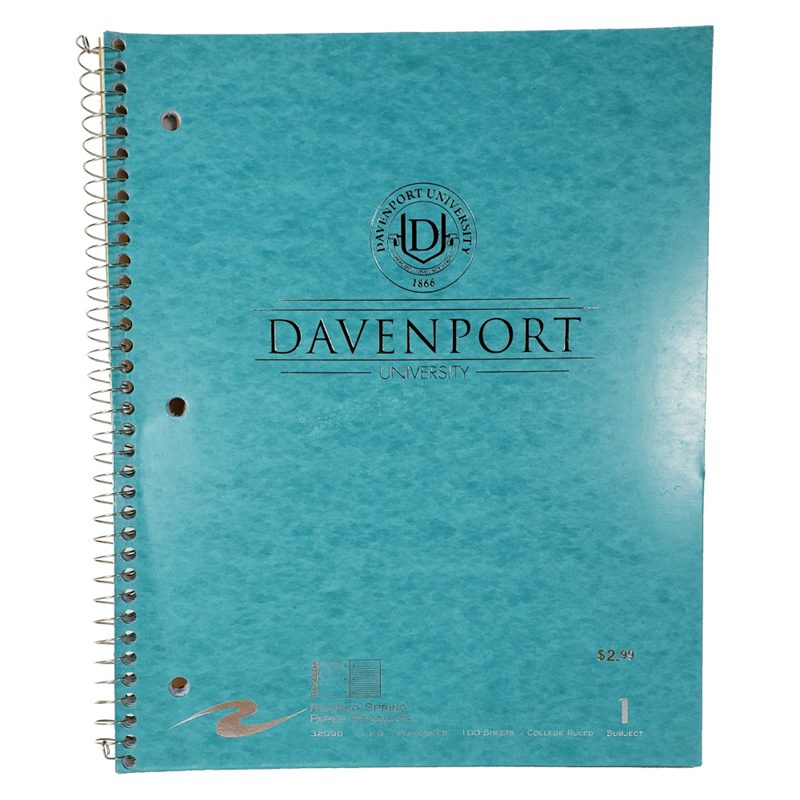Notebook 1 Sub Metallic Turquoise (SKU 1001705023)