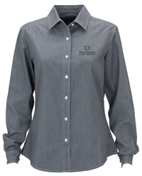 Womens Gray Denim Shirts